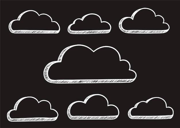 Ilustração da nuvem