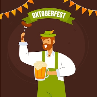 Ilustração da oktoberfest