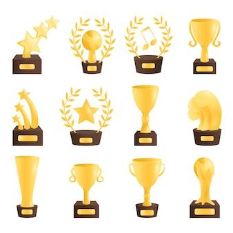 Ilustração da taça vencedor