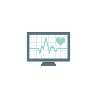 Ilustração da taxa de pulso