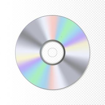Ilustração da tecnologia blue-ray do disco dvd ou cd