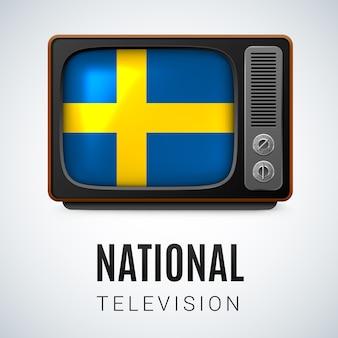 Ilustração da televisão nacional