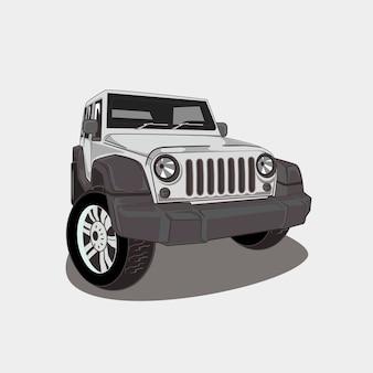 Ilustração de 4x4 off-road