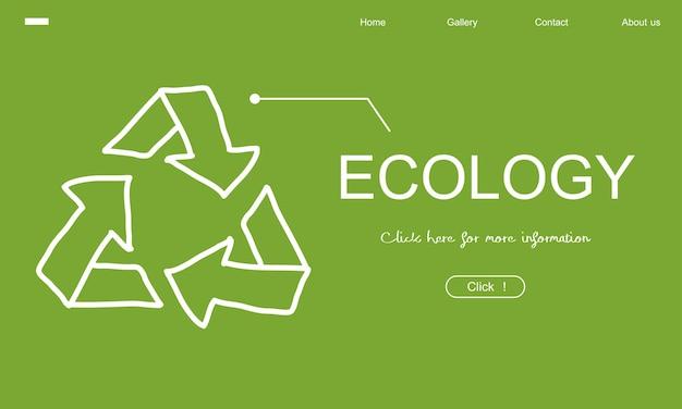Ilustração, de, ambiente, conceito