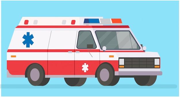 Ilustração de ambulância