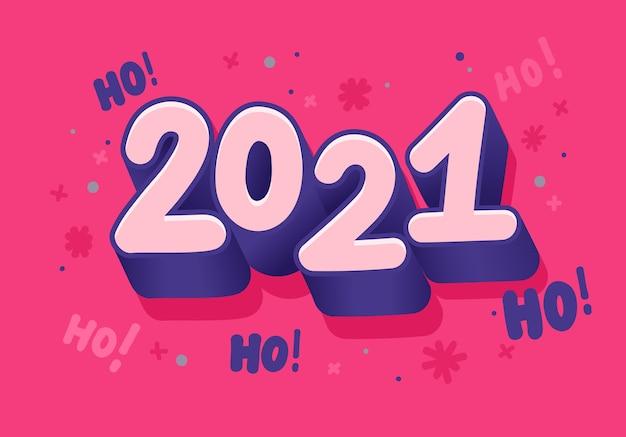 Ilustração de ano novo