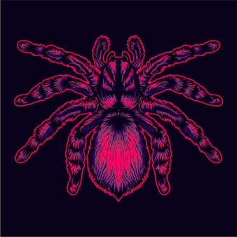 Ilustração de aranha