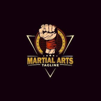 Ilustração de artes marciais