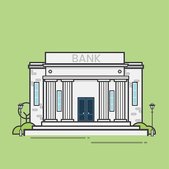 Ilustração de banco
