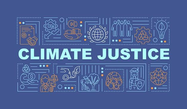 Ilustração de banner de conceitos de responsabilidade ambiental
