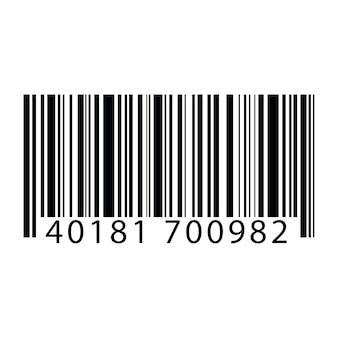 Ilustração, de, barcode