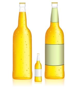 Ilustração de bebida com baixo teor de álcool