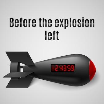 Ilustração de bomba