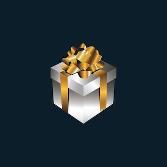 Ilustração de caixa de presente