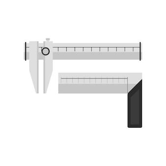 Ilustração de calibre