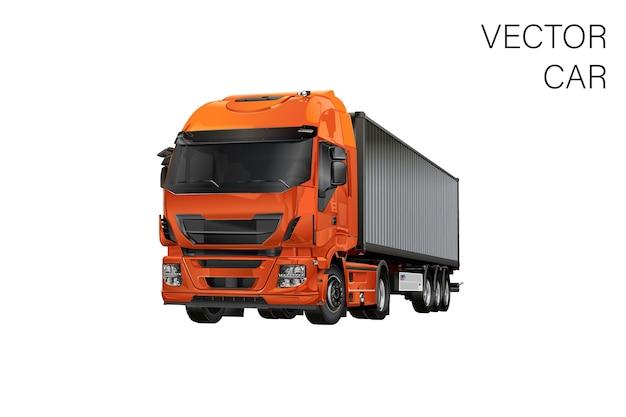 Ilustração de caminhão