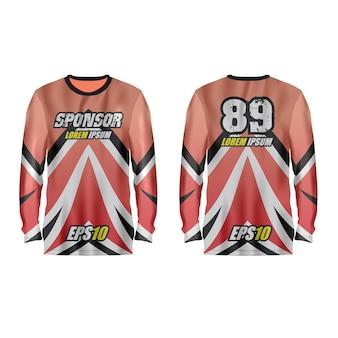 Ilustração de camisa esporte