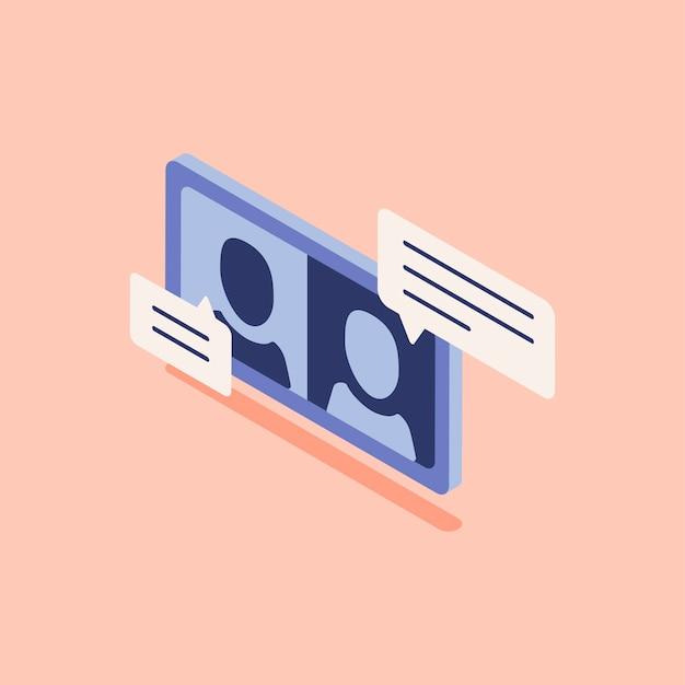 Ilustração, de, chame quarto