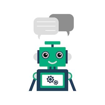 Ilustração de chatbot