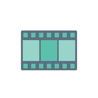 Ilustração, de, cinema, teatro