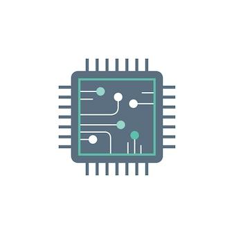 Ilustração de circuito