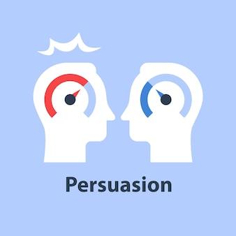 Ilustração de coaching ou mentoria