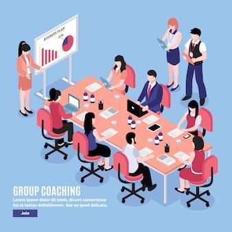 Ilustração de conferência de brainstorm