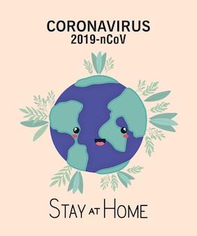 Ilustração de coronavírus