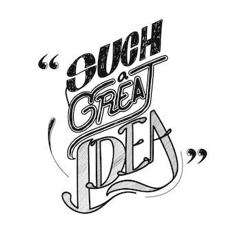 Ilustração, de, criativo, idéias