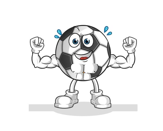 Ilustração de desenho animado de bola