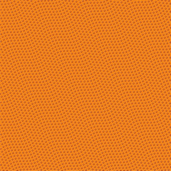Ilustração de desenho de textura de basquete