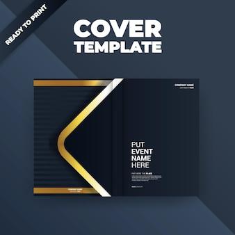 Ilustração de design de brochura