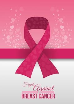 Ilustração de design de câncer