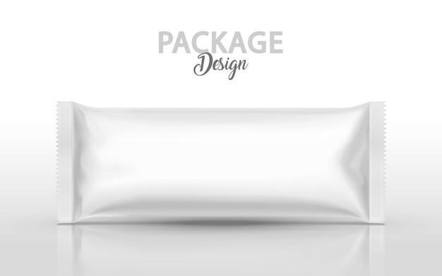 Ilustração de design de embalagem de papel alumínio