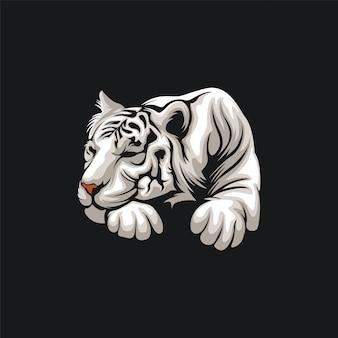 Ilustração de design de tigre