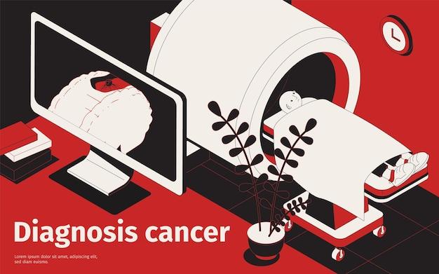 Ilustração de diagnóstico de câncer