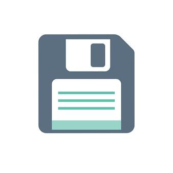 Ilustração, de, disquete