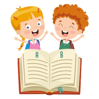 Ilustração de educação