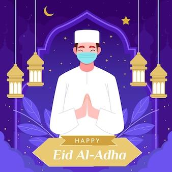 Ilustração de eid al-adha