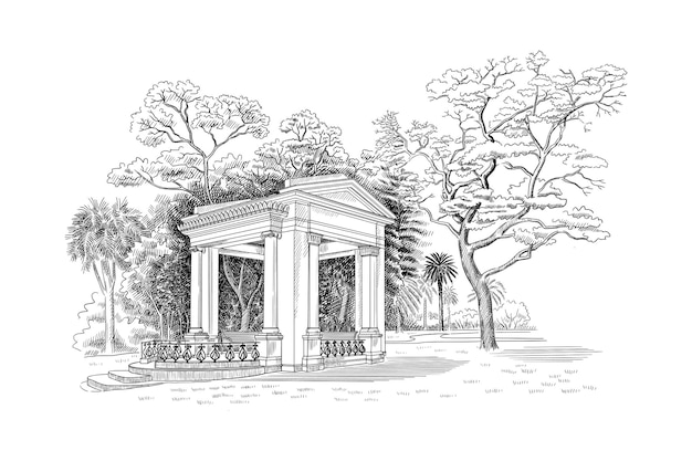 Ilustração de elegante