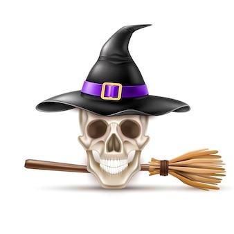 Ilustração de elementos do feriado de halloween