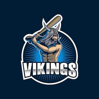 Ilustração de esportes viking
