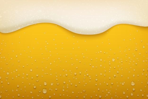 Ilustração de espuma de cerveja