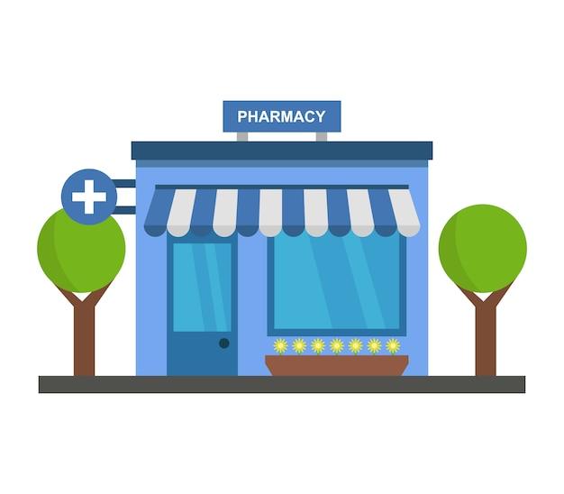 Ilustração de farmácia