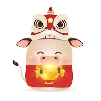 Ilustração de feliz ano novo chinês