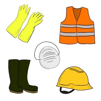 Ilustração de ferramentas de segurança