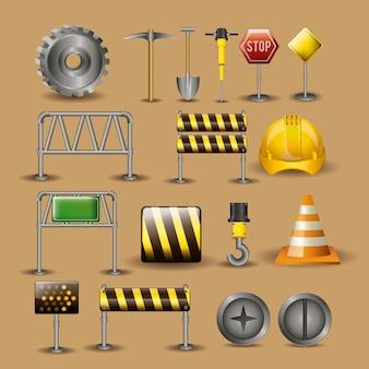 Ilustração de ferramentas.