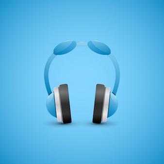 Ilustração de fones de ouvido.