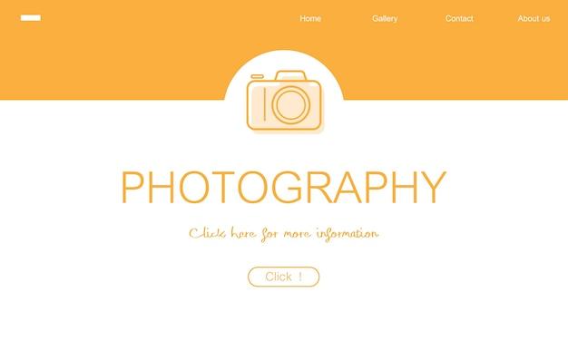 Ilustração de fotografia