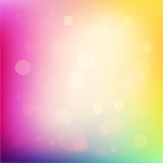 Ilustração de fundo abstrato colorido macio